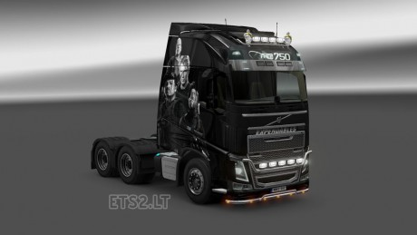 Volvo-FH-2012-Expendables-Skin-1