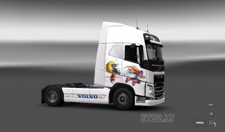 Volvo-FH-2012-Megaman-Zero-Skin