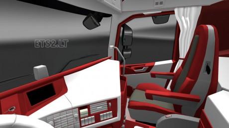 Volvo-FH-2012-Red-White-Interior
