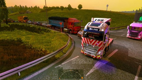 Volvo-FH-2012-Taiwan-National-Highway-Police-Bureau-Skin-1