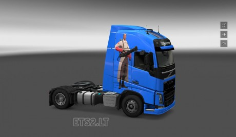 Volvo-FH-2012-Team-Fortress-2-Skin-1