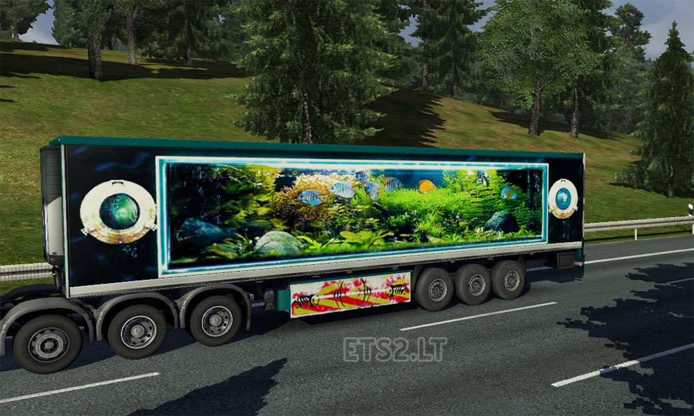 Fish tank 1 trailer skin ets 2 mods for Fish tank trailer