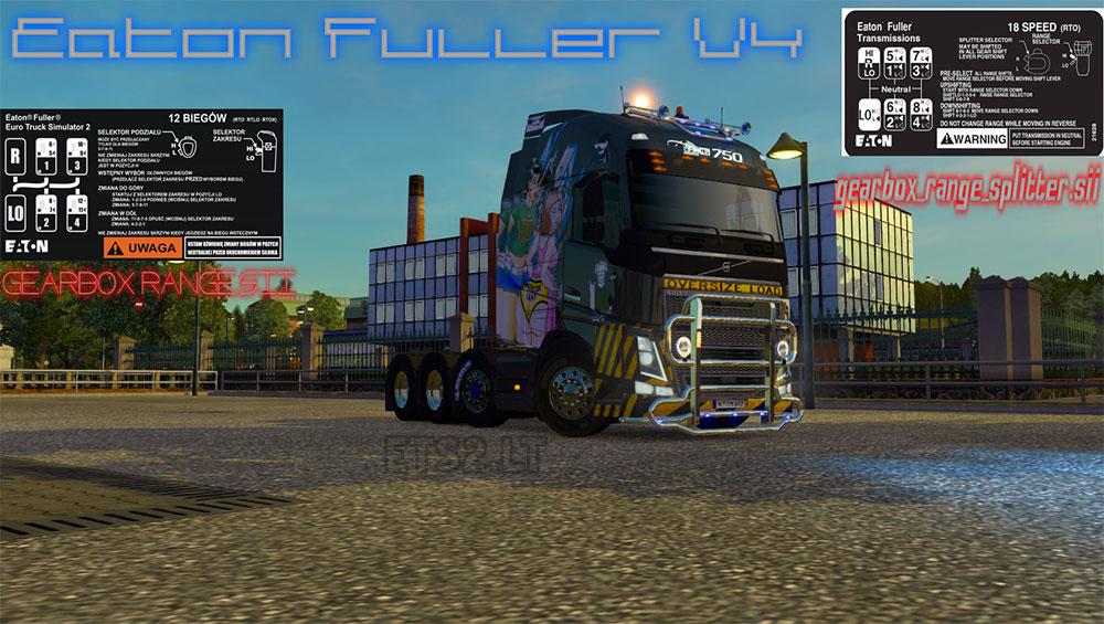 Eaton Fuller v4 | ETS 2 mods