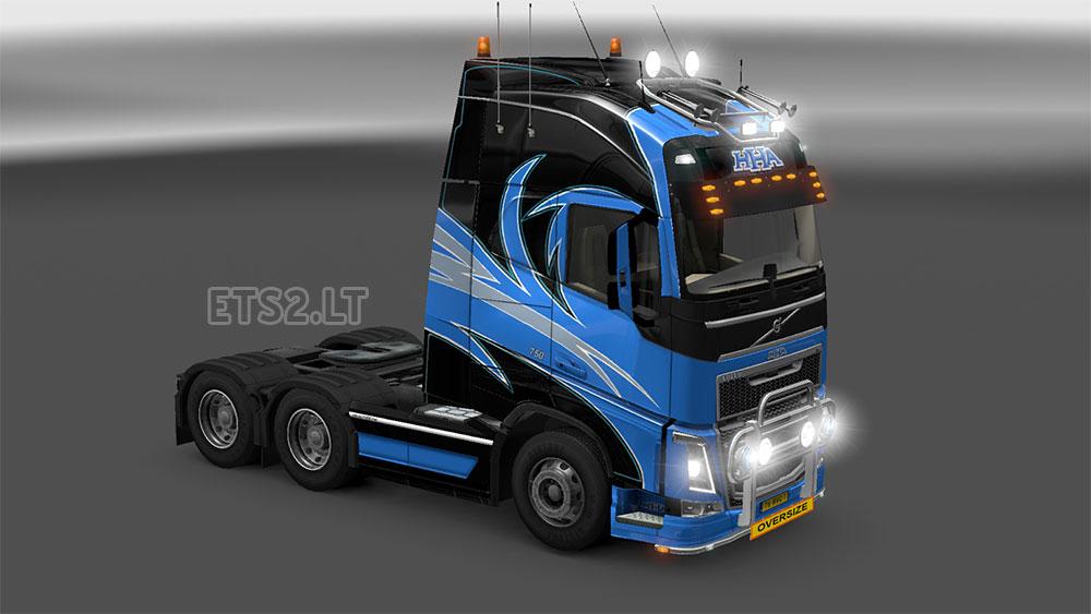 Volvo FH 2012 HHA Skin | ETS 2 mods