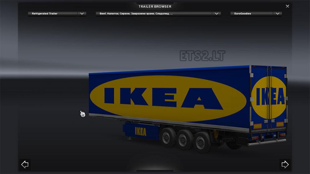 Ets 2 mods part 31 Ikea simulation