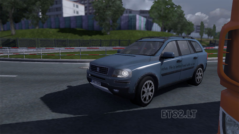Volvo Xc90 Advertisments For Ai Ets 2 Mods