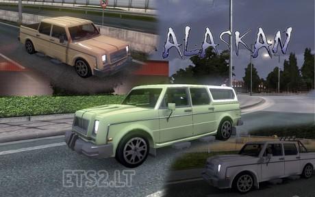 Auto-Alaska- in-Traffic