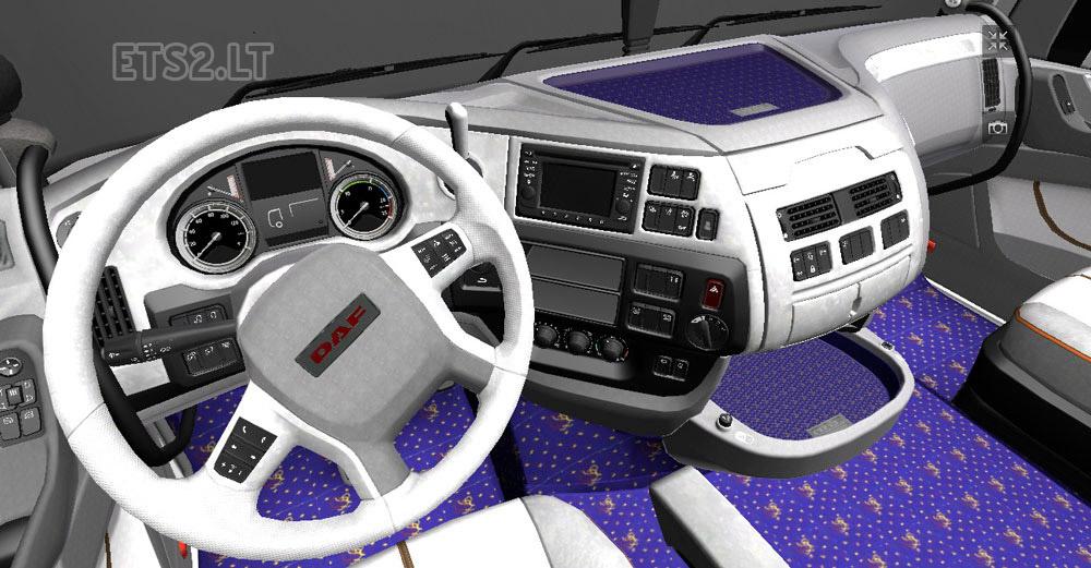 Daf xf euro 6 interior for Daf euro 6 interieur