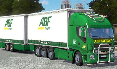 Iveco Hi Way ABF (Freight) Tandem Mod | ETS 2 mods