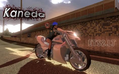 Motorcycle-Kaneda-in-Traffic