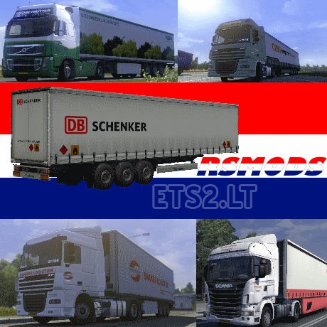 rsmods mega dutch company combo skin pack v 3 0 ets 2 mods. Black Bedroom Furniture Sets. Home Design Ideas