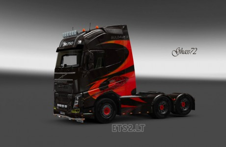 Volvo-FH-2012-Guldager-Skin-1