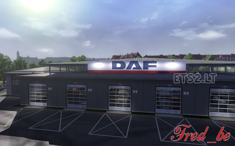 Big garage daf ets 2 mods for Garage daf massy