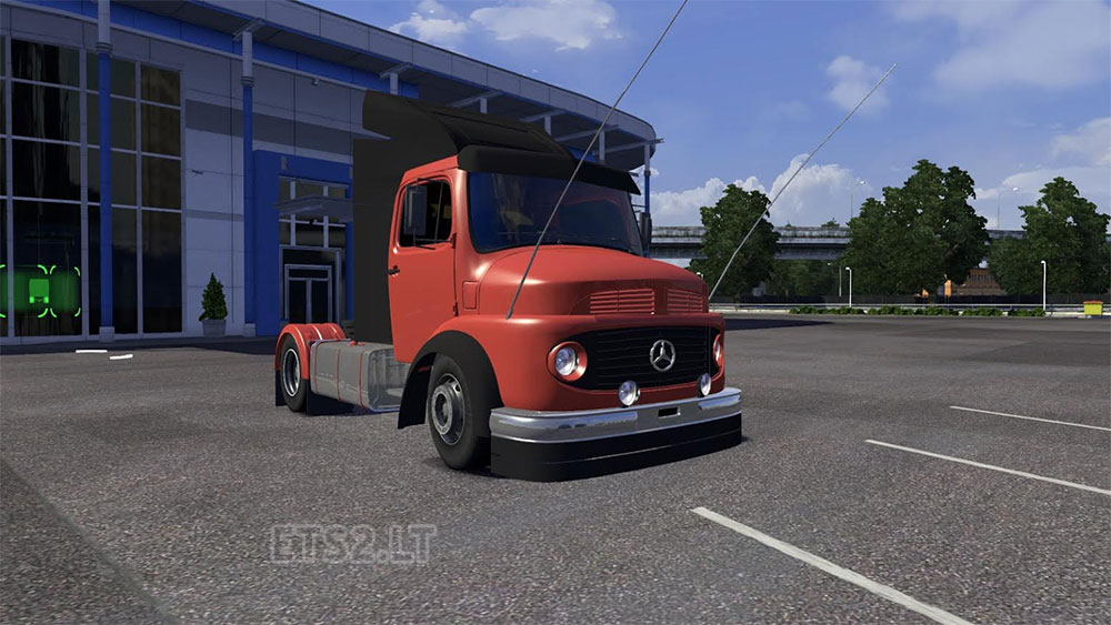 Mercedes benz 1113 ets 2 mods for Mercedes benz brasil