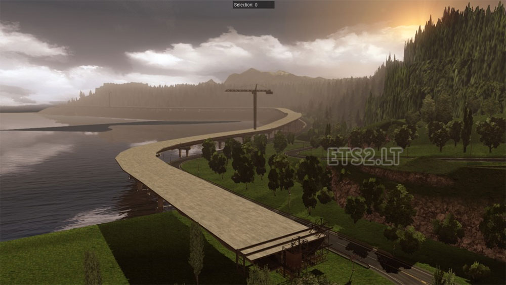 North Scandinavia ETS Mods Part - Norway map farming simulator 2015
