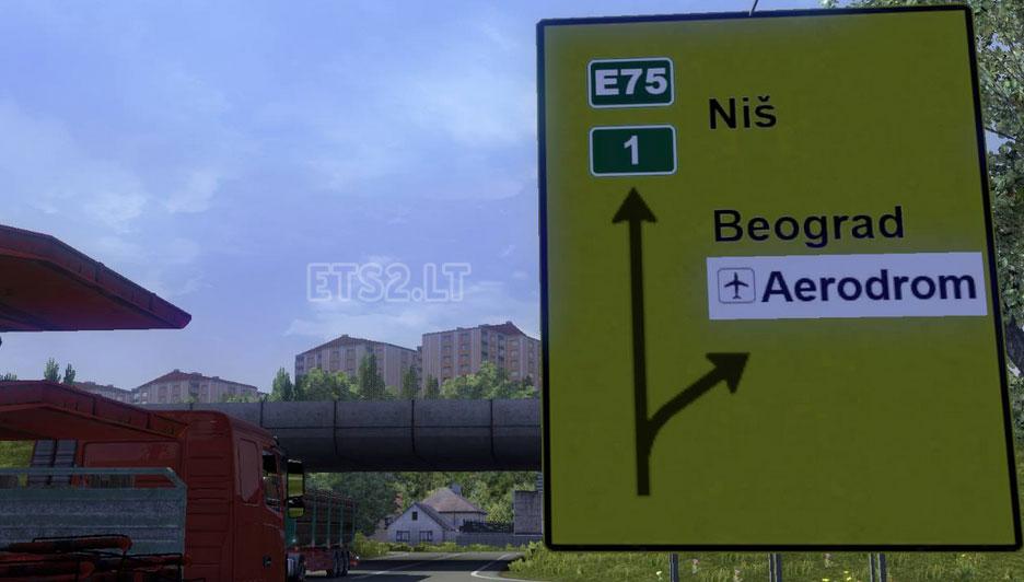 Serbian Map Beta 1 0 Ets 2 Mods