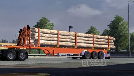 timber-semitrailer