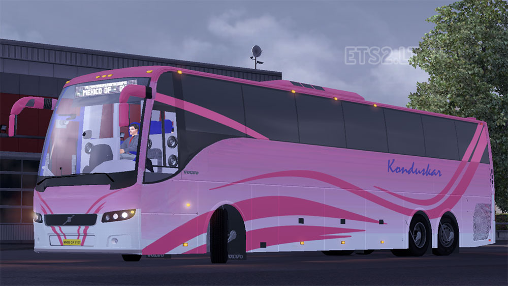 Indian Volvo Bus image...