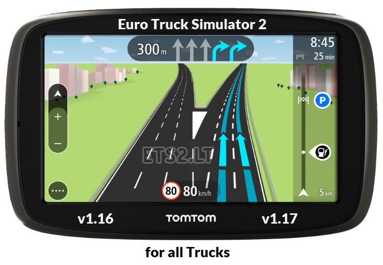 Tomtom navigator for all trucks