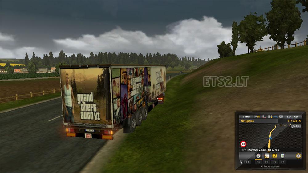 GTA 6 trailer | ETS 2 mods