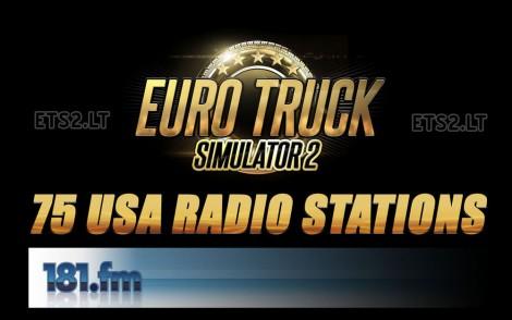 75 USA Radio Stations