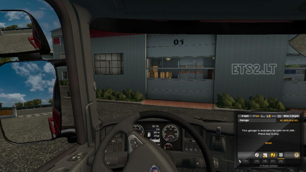Cheap garages ets 2 mods for Cheap 2 car garage