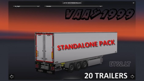 Chereau Trailers Pack-2