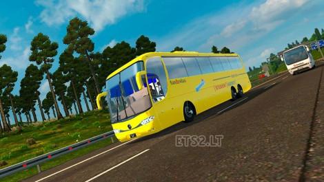Czech Student Agency Bus mod + Passengers-1