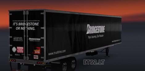 DC Bridgestone T800 + American Trailer Combo Skin Pack 01-2