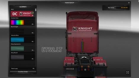 DC Knight T800 + American Trailer Combo Skin Pack 02-3