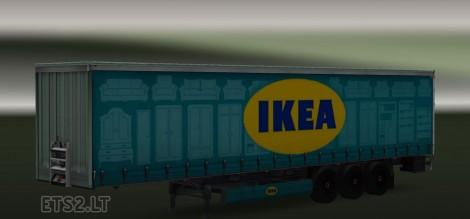 Ikea trailer Ikea simulation