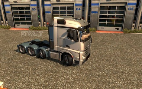 Mercedes Actros MP4 8x4 Chassis