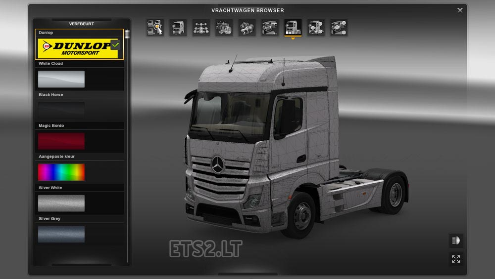 Mercedes benz actros 2014 template scs file all models 1 for Mercedes benz all models