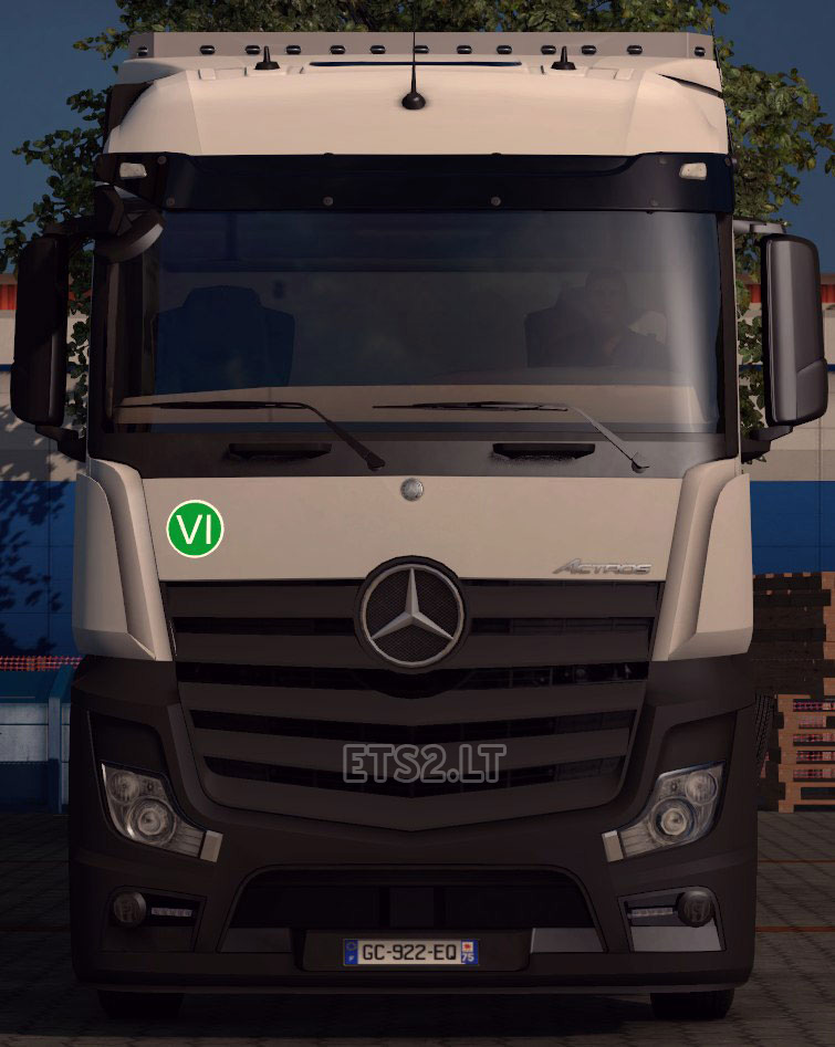 mercedes benz actros mp4 edited ets 2 mods. Black Bedroom Furniture Sets. Home Design Ideas