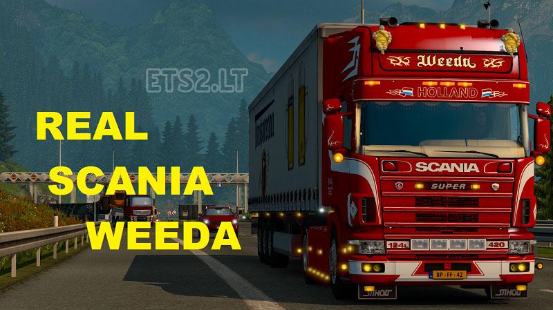Scania 124L Weeda Holland | ETS 2 mods
