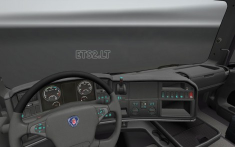 Scania R Dashboard Light-3
