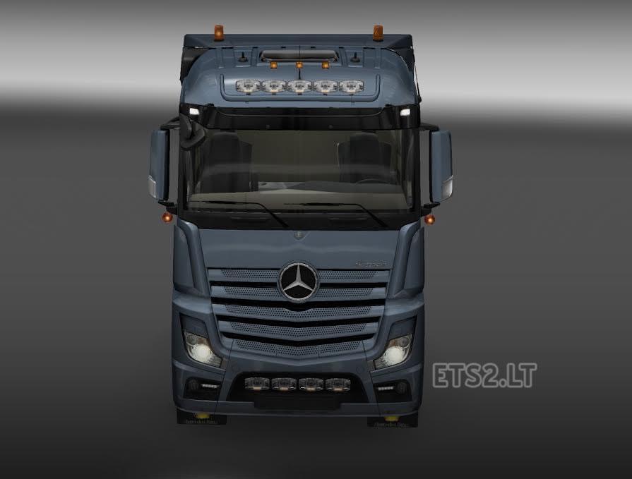 Sunshield v1.0 - Sun Visors for all trucks for ETS 2