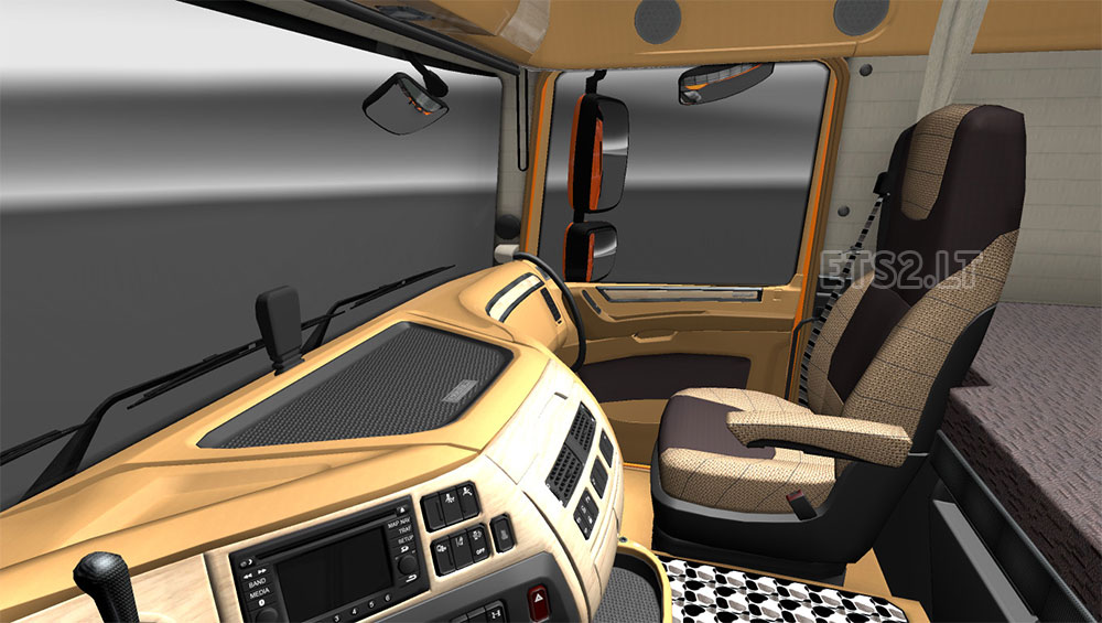 Interior DAF xf 6 by deathorange   ETS 2 mods