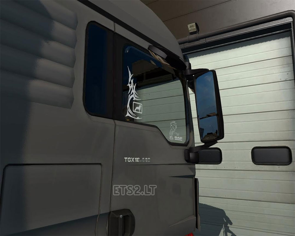 Wind deflectors for windows two versions decals for windows three versions small decals for right window nine versions