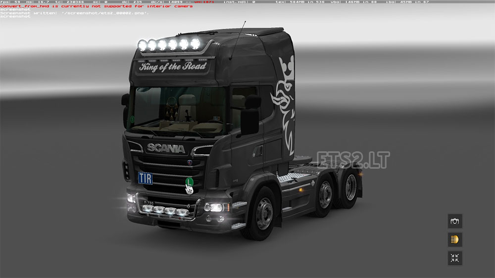 Tuning For Scania Rs By Rjl Ets 2 Mods