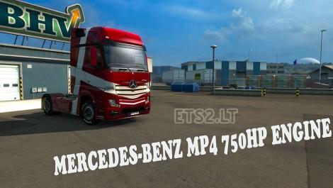 750 HP Engine