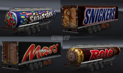 Chocolate Trailers Pack - UK-1