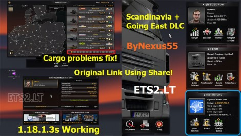 ETS 2 Full Save 1.18.1.3s Fix 2