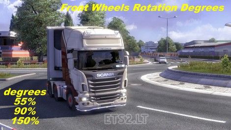 Front Wheels Rotation Degrees