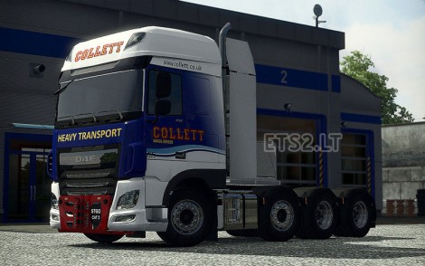 Heavy Haulage Chassis addon for DAF XF Euro 6-1