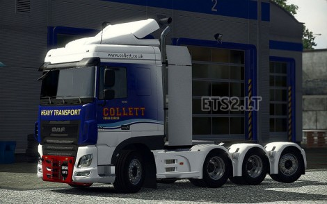 Heavy Haulage Chassis addon for DAF XF Euro 6-2
