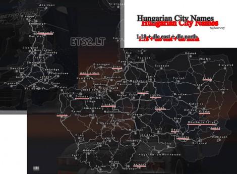 Hungarian City Names