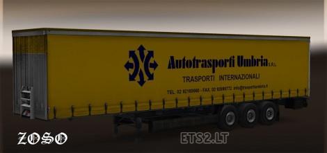 Iveco Stralis Skin + Autotrasporti Umbria Trailer-2