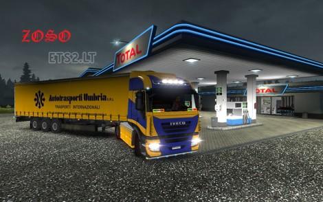 Iveco Stralis Skin + Autotrasporti Umbria Trailer-3