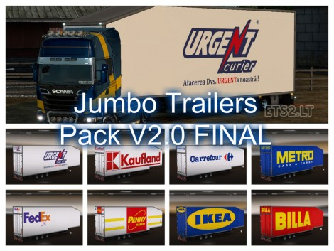 Jumbo Trailers Pack